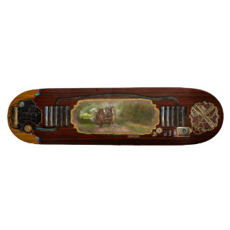 Country - Horse - The hay ride Skate Board