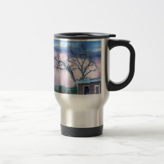 Country Horses Riders On The Storm Travel Mug