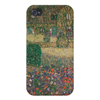 Country House by the Attersee, c.1914 iPhone 4 Covers