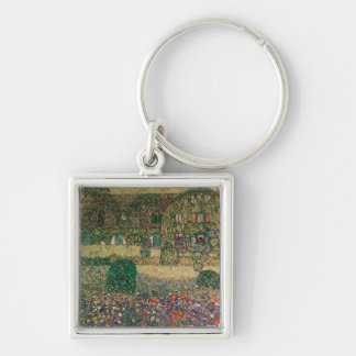 Country House by the Attersee, c.1914 Keychain
