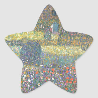 Country House by the Attersee cool Star Sticker