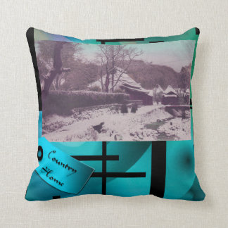Country House  - Japanese themed pillow