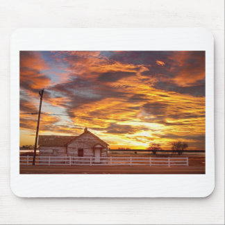 Country House Sunset Longmont Colorado Boulder Cou Mouse Pad