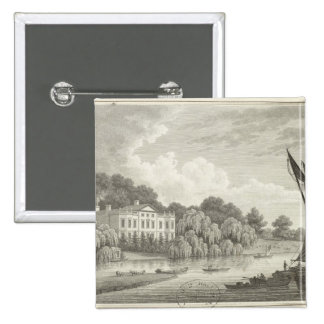 Country House with Lake and Boats Button