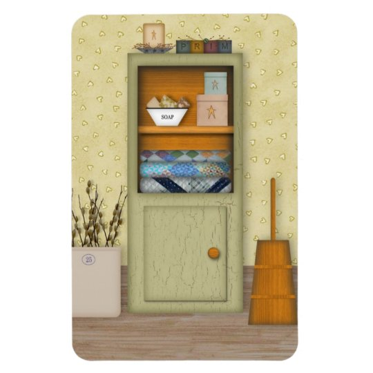 Country Hutch Premium Magnet