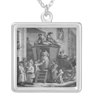 Country Inn Yard, 1747 Necklace