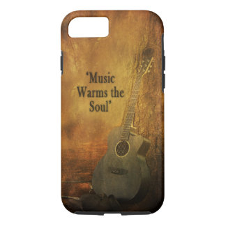 COUNTRY IPHONE-5 CASE/SKIN - MUSIC WARMS THE SOUL iPhone 7 CASE