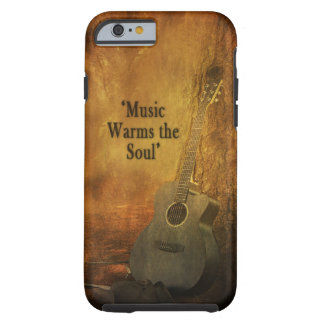 COUNTRY IPHONE-5 CASE/SKIN - MUSIC WARMS THE SOUL TOUGH iPhone 6 CASE