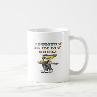 Country Is In My Soul Coffee Mugs