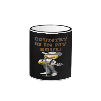 Country Is In My Soul Mugs