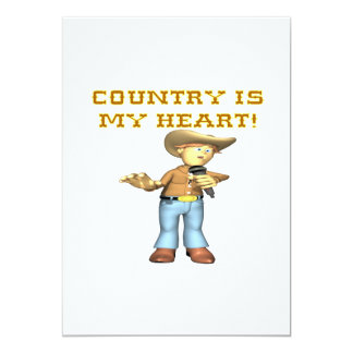 Country Is My Heart Card