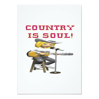 Country Is Soul Card