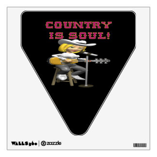 Country Is Soul Wall Decal