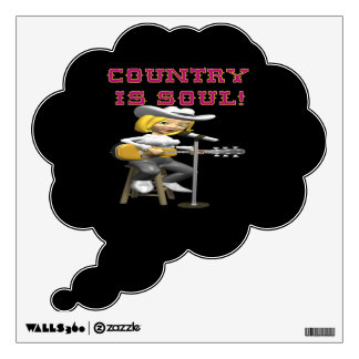 Country Is Soul Wall Decals