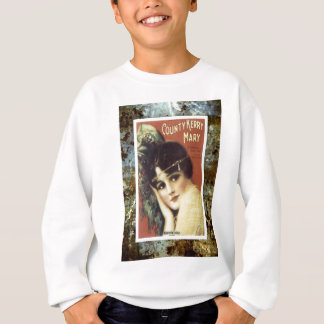 Country Kerry Mary Victorian Lady Sheet Music Sweatshirt