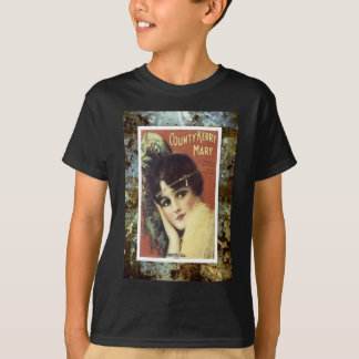 Country Kerry Mary Victorian Lady Sheet Music T-Shirt