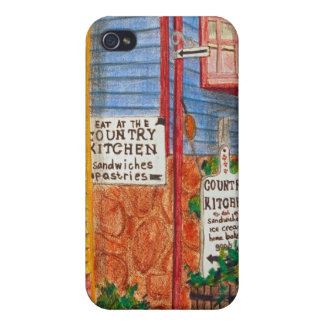 Country Kitchen bag iPhone 4/4S Cases