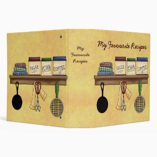 Country Kitchen Binder