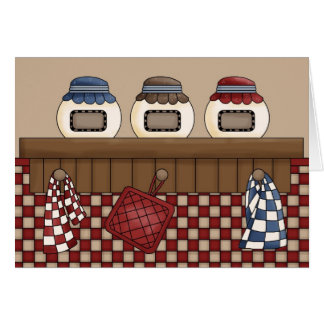 country kitchen card