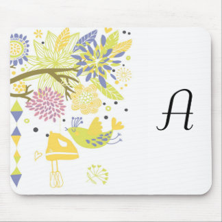 country kitchen - hand mixer on floral. mouse pad