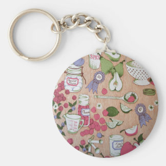 Country Kitchen Key Chains