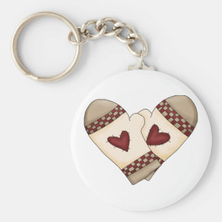 Country Kitchen Oven Mitts Keychains