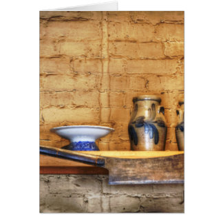 Country Kitchen Shelf Greeting Cards