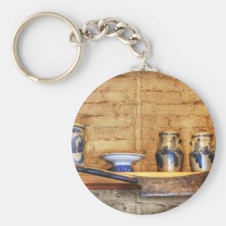 Country Kitchen Shelf Keychain