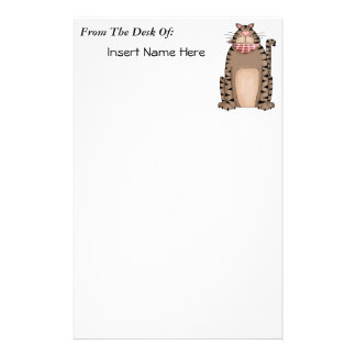 Country Kitty Stationery