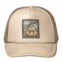 Country Kitty Trucker Hat