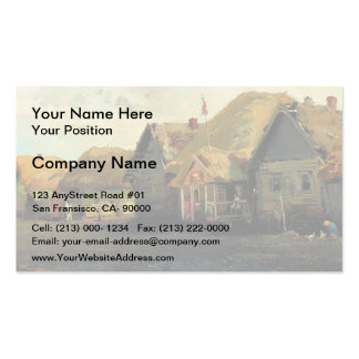 Country Landscape by Guy Rose Business Card Template
