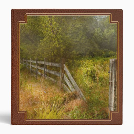 Country - Landscape - Lazy meadows 3 Ring Binder