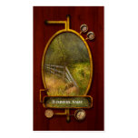 Country - Landscape - Lazy meadows Double-Sided Standard Business Cards (Pack Of 100)