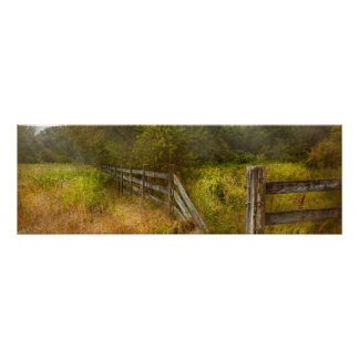Country - Landscape - Lazy meadows Poster