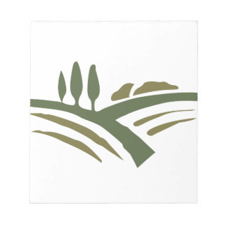 country landscape scratch pad