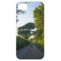 Country lane in Cornwall England iPhone 5 Cover