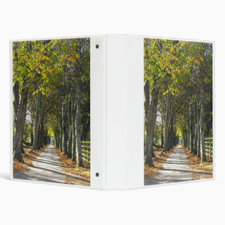 Country lane in Jersey Channel Islands Binder