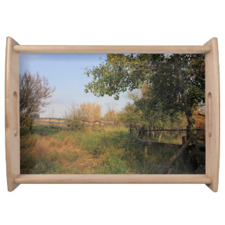 Country Lane Serving Platters