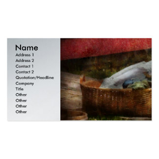 Country - Laundry  Double-Sided Standard Business Cards (Pack Of 100)