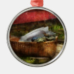 Country - Laundry  Christmas Ornament