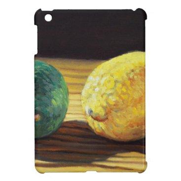 Beach Themed Country Lemon and Lime iPad Mini Cases