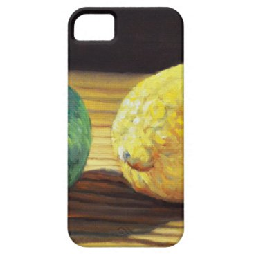 Beach Themed Country Lemon and Lime iPhone SE/5/5s Case