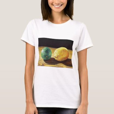 Beach Themed Country Lemon and Lime T-Shirt