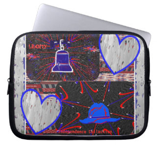 Country Liberty Bell ~ Laptop Sleeve