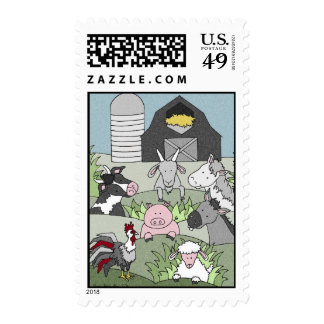 Country Life 14 Postage Stamps