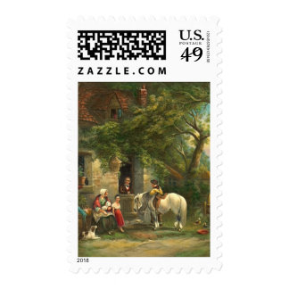 Country Life 1938 Postage Stamp