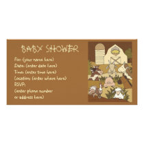 Country Life 21 Baby Shower Card