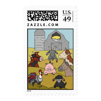Country Life 8 Postage Stamp