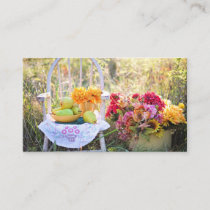 Country Life Autumn Business Card