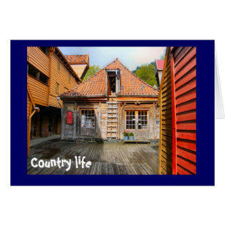 Country life card